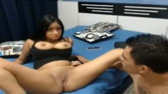 Comendo Namoradinha 18 Anos Na Webcam
