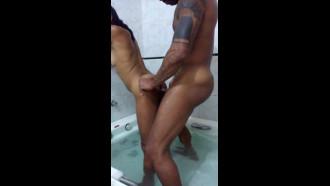 Casal amador fodendo no motel