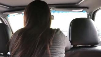 Comeu namorada em uma rapidinha dentro do carro