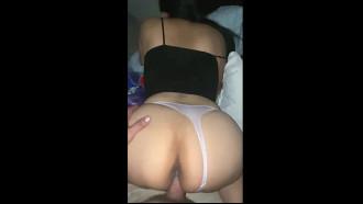 Puta amadora levando pau e sendo filmada