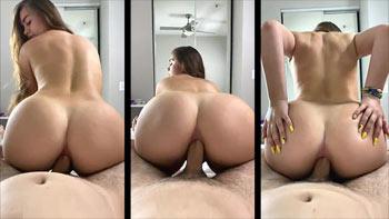 Ninfetinha no anal caseiro